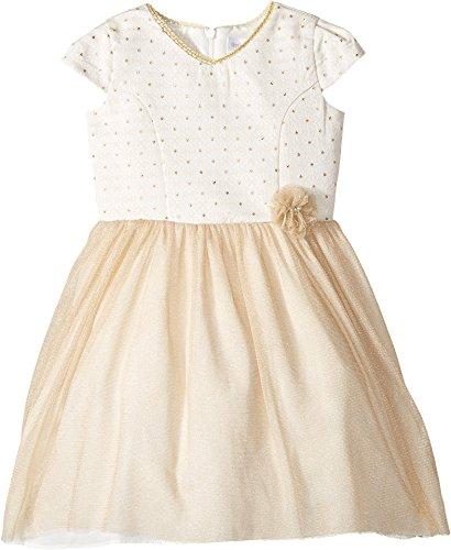 Little Angels Toddler Girls' Princess Bodice High-Low Dress, Gold, (Princess Bodice)