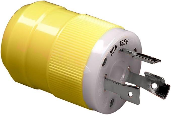 Amazon.com: Marinco 30A 125V Male Plug: Office ProductsAmazon.com