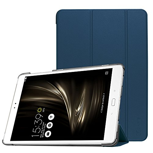Fintie ASUS ZenPad 3S 10 Z500M Case (NOT FIT Model# Z500KL) - [SlimShell] Ultra Lightweight Stand Cover with Auto Sleep/Wake for ASUS ZenPad 3S 10 (Z500M ONLY) 9.7 Tablet, Navy