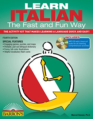 Learn Italian the Fast and Fun Way with MP3 CD: The Activity Kit That Makes Learning a Language Quick and Easy! (Fast and Fun Way Series) (Way Kit)
