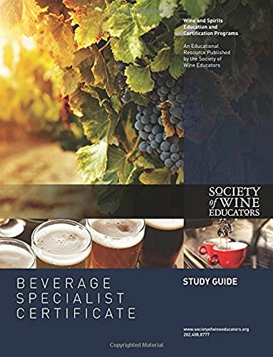Hospitality/Beverage Specialist Certificate Study Guide