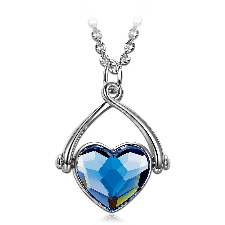 J NINA Swing de amor Collar Mujer fabricados con cristales SWAROVSKI® Joyería