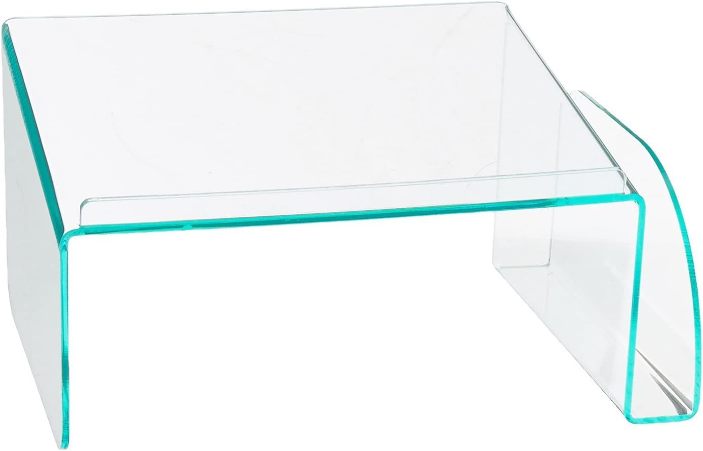 Lorell Phone Stand, Clear/Green