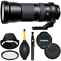 Tamron SP 150-600mm f/5-6.3 Di VC USD Lens for Nikon F Mount + SSD Deluxe Bundle - Full Frame Lens