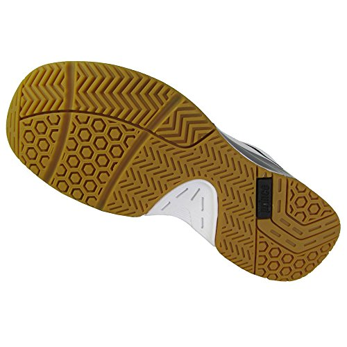 Nfs Príncipe De Los Hombres De Asalto Zapato Tenis Interior Blanco / Negro / Plata Calidad de Español al por mayor cj3ma