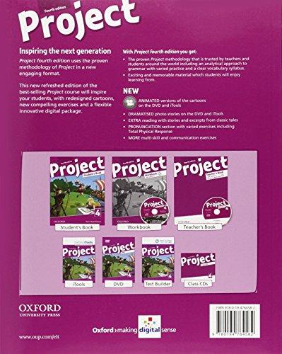 Project 4th. Student's book. Per la Scuola media. Con espansione online: Project 4. Student's Book 4th Edition (Project Fourth Edition)