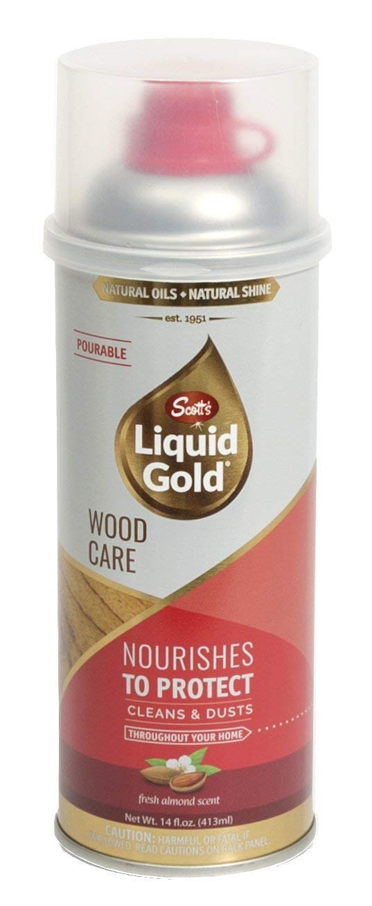 Scott's Liquid Gold Pourable Wood Care- Cleans & Dusts (Pack of 2)