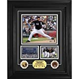 """Highland Mint Chicago White Sox Mark Buehrle """"Perfect Game"""" 24KT Gold Coin and Infield Dirt Coin Marquee Photo Mint"""
