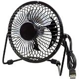 eForChina Metal Series Mini USB Fan, 360 Degree Rotate