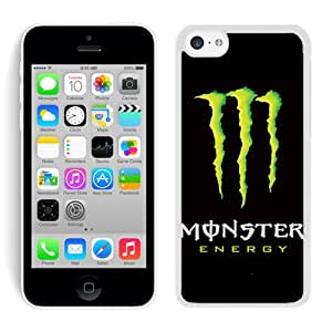 Monster 11 White iPhone 5C Screen Phone Case Unique and Fashion Design