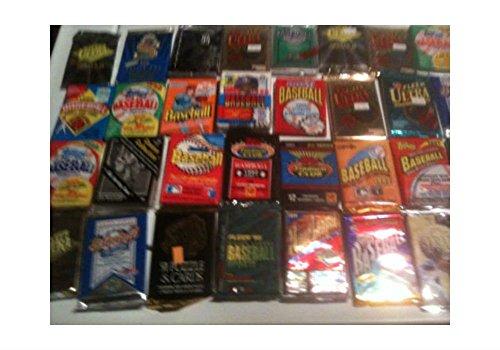 Large Product Image of BEST PACK DEAL---- Huge Lot of VINTAGE Baseball Cards in UNOPENED Packs