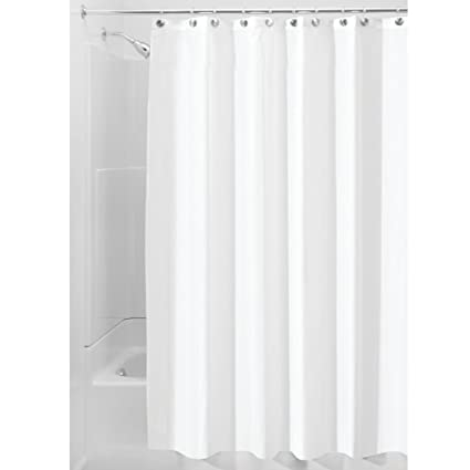 Amazon.com: Waterproof Mold and Mildew-Resistant Fabric Shower ...