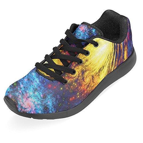 InterestPrint Damen Jogging Running Sneaker Leichtes Leicht Gehendes Leichtes Komfort Sport Laufschuhe Multi 12