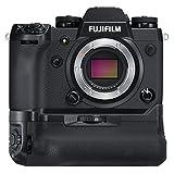 Fujifilm X-H1 Mirrorless Digital Camera w/VPB-XH1 Vertical Power Booster Grip Kit