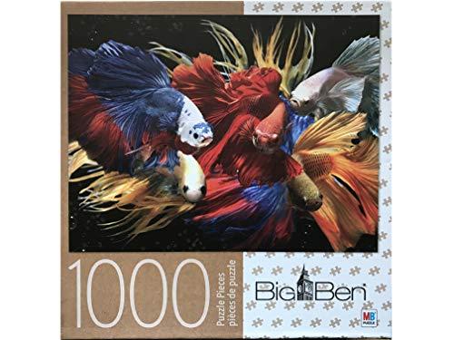 (Big Ben: Fighting Fish 1000 Piece Puzzle)