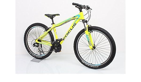 Focus bicicleta Raven Rookie 1.0 26 21 marchas. Amarillo 2015, tamaño 55 cm: Amazon.es: Deportes y aire libre