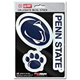 penn state bumper sticker - NCAA Penn State Nittany Lions Team Decal, 3-Pack