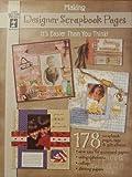 Making Designer Scrapbook Pages, Hot off the Press Staff, 1562319558