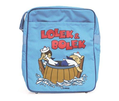 Lolek & Bolek bandolera - La bolsa de mensajero del hombre - Lolek & Bolek - Diseño original con licencia - LOGOSHIRT