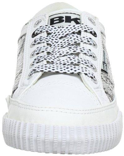 British Knights ATOLL LO CALI B31-3705 - Zapatillas de deporte para mujer Blanco (Weiß (white/black 1))