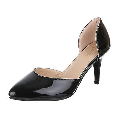 Ital-Design Damen Schuhe PA15182 Pumps High Heels