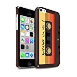 i phone 5c marvel cases - STUFF4 Matte Hard Back Snap-On Phone Case for Apple iPhone 5C / Awesome Mix Tape Design / Guardians Comic Inspired Collection