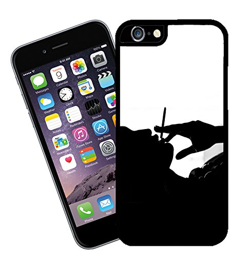 Smoking Girl 01 iPhone case - This cover will fit Apple model iPhone 5 and 5s (not 5c) - By Eclipse Gift Ideas