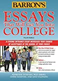 Barron's Educational Series College Application Essays