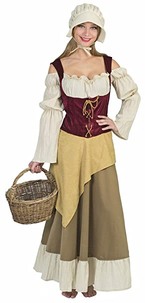 Funny Fashion Disfraz de Mujer Campesina, una pastora ...