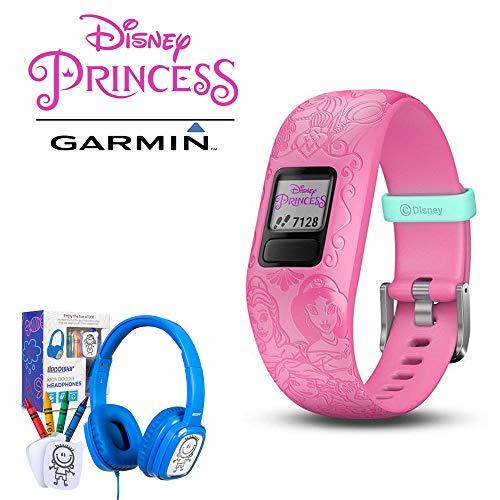 Garmin Vivofit jr. 2 Activity Tracker w/Bonus Deco Gear Kids Safe Ears Headphones