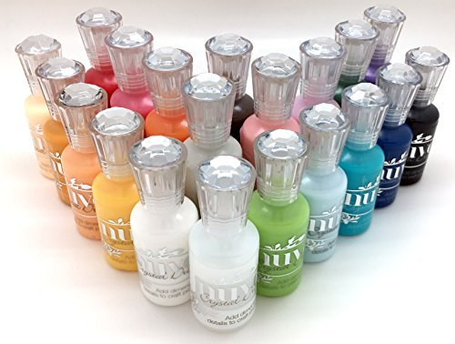 (Nuvo Crystal Drops Complete Gloss Set 2017 - 20 Bottle Bundle)