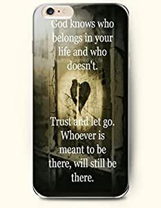 iPhone Case, SevenArc iPhone 6 (4.7) Hard Case **NEW** Case with the Design of god knows who belongs in your life...
