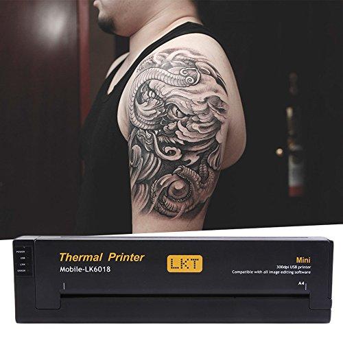 Profesional ligero diseño dibujo tatuaje fotocopiadora ...