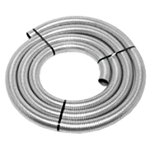 """Walker (40031) 2-1/2"""" Diameter x 25' Length Stainless Steel Flexible Exhaust Tube"""