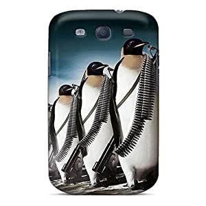 New Arrival Case Specially Design For Galaxy S3 (penguin Attack)