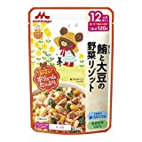 Morinaga large satisfaction rice tuna and from vegetable risotto 12 months around May of soybean one meal 120gX12 pieces