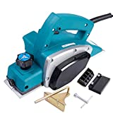 NEW Electric Wood Planer Door Plane Hand Held Woodworking Surface