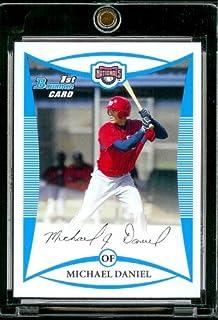 Bowman #perspectives 2008 BP33 Michael Daniel-Nationals de Washington Rookie (XRC-Carte d'extension-Carte de Baseball MLB à visser