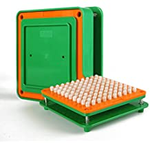 100 Holes (00#) Capsule Holder With Tamper for Size 00 capsules Holding Tray Pill Dispensers & Reminders