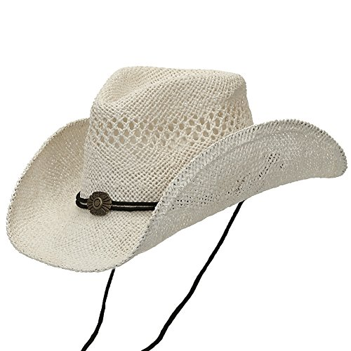 Straw Shapeable Country Cowboy White product image