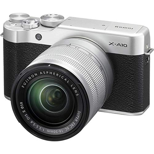 FUJIFILM X-A10 Mirrorless Digital Camera with XC 16-50mm f/3.5-5.6 OIS II Lens (Renewed)