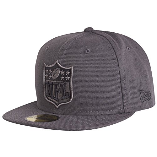 New Era 59Fifty Fitted Cap - GRAPHITE NFL Logo gris