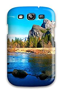 lintao diy Faddish Phone Wilderness Lake Case For Galaxy S3 / Perfect Case Cover