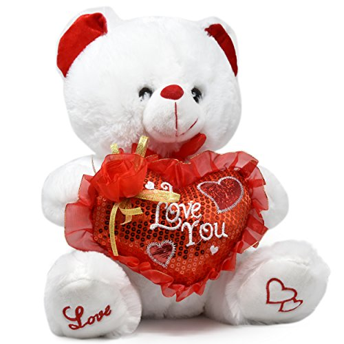 Silver Plated Body (Valentine Teddy Bear 14