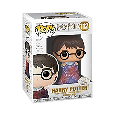 Funko Pop! Harry Potter: Harry Potter - Harry with Invisibility Cloak: Toys & Games