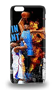 Fashion Case Cover For Iphone 6 Plus NBA Oklahoma City Thunder Kevin Durant #35 3D PC Soft Case