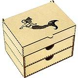 Azeeda 'Mermaid' Vanity Case / Makeup Box (VC00005174)