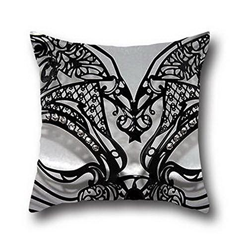 Ciwei Robby Black Cats Halloween Pillow Shams 100% Cotton ( 16*16 (Black Cats Of Halloween Rin And Len)