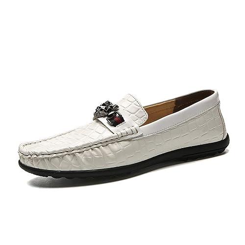 Zapatos de Hombre de Cuero 2018 Spring & Fall Mocasines y Slip-Ons Zapatos de