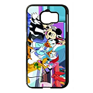 Mickey Mouse and Donald Duck Black Phone Case for Samsung S6